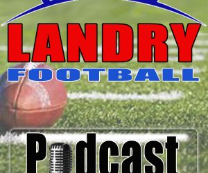 Chris Landry, Football
