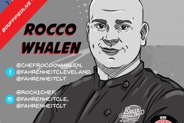 Rocco Whalen, Chef Brian Duffy, Duffified Live