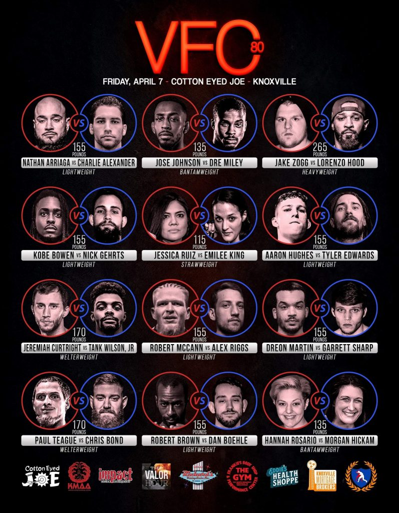 Valor Hour, VFC 80
